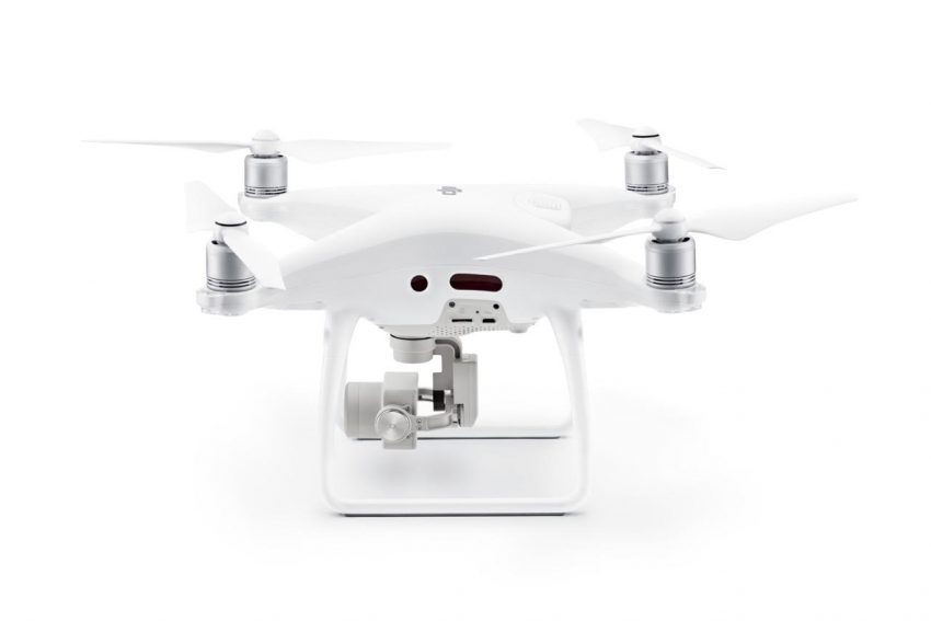 Phantom 4 Pro Larger Camera and Side Obstacle Avoidance System