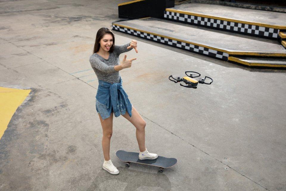 DJI Spark selfie drone