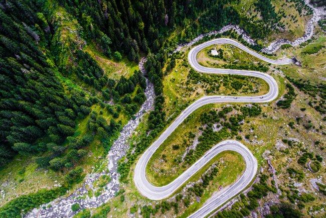 Infinite Road to Transylvania – Themed Aerial Photos Taken with the Mavic Pro and Phantom 4