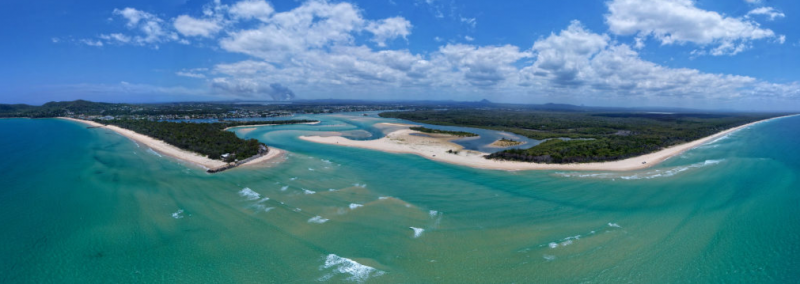 Australian Coastal Scenery: Panoramas with Phantom