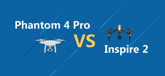 A Professional Choice: The Phantom 4 Pro vs Inspire 2