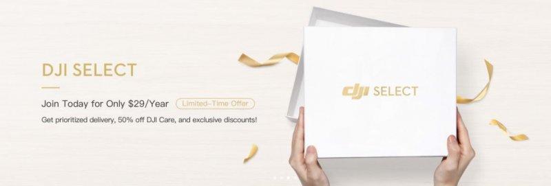DJI Select – Become a DJI Online Store Member