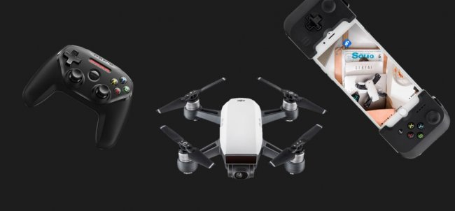 Get Your Game On: Fly Spark with a Gamepad